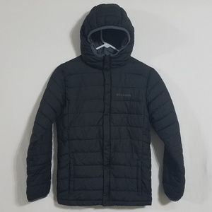 Columbia Boys Large Hooded Puffer Jacket Coat